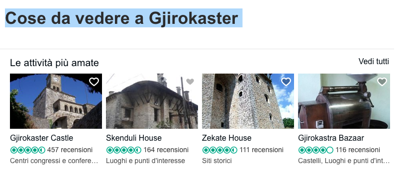 Cose da vedere a Gjirokaster! Tripadvisor a tutti gli Italiani...