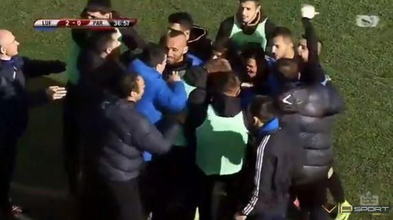 Luftëtari Shpartallon Partizanin 5 me 0 - Festë në Gjirokastër...