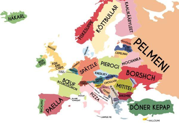 Harta Tregon Ushqimet më Popullore në Europë - Ja Gatimi Tradicional i Shqipërisë, sipas Vizitorëve Europianë!