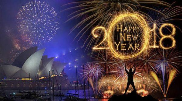 Shikoni të Gjitha festimet e Vitit të Ri në Mbarë Globin për vetëm 2 Minuta në këtë Video!
