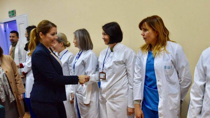 Brenda 3 Muajsh Spitali i Gjirokastrës me Aparatura të Reja! Ministrja Manastirliu Sjell edhe një Ekip Mjekësh nga Tirana!