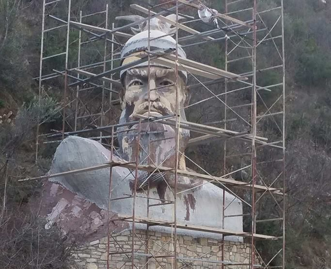 Biznesmeni Patriot Ndërton Monumentin Madhështor të Gjergj Kastriot Skënderbeut!