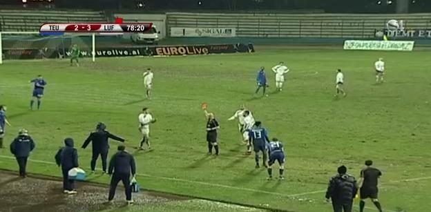 """Luftëtari Fiton 3 me 2 ndaj Teutës me një Rritëm të """"Çmendur"""" Golash që në Pjesën e Parë!"""