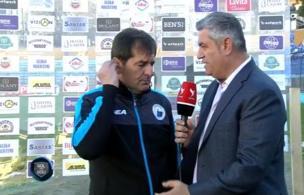 Trajneri Hasan Lika Faqebardh me Luftëtarin prezantohet te Vllaznia