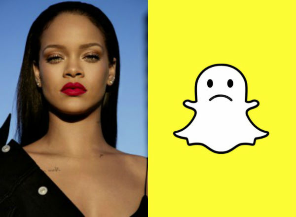 Rihanna Fundos Snapchat - Rrjeti Social Krijon Reklame Nxitëse Dhune...