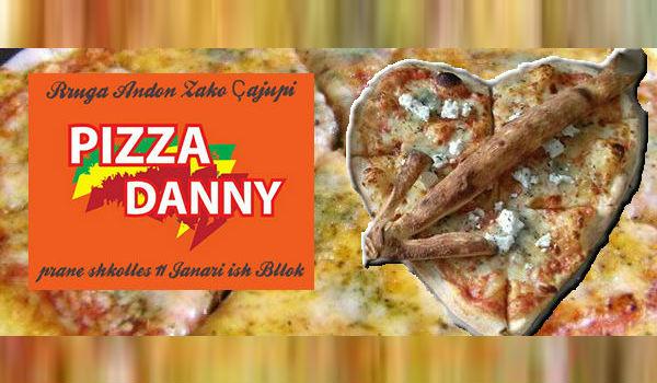 Pizza Danny tani në Bllok të Tiranës - Një Picë me Zemër, plot Elegancë, Bollëk, dhe Shije!