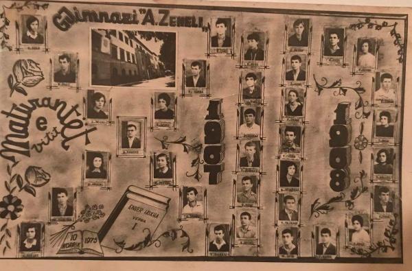"""TAKIMI I MATURËS '68 - Më 20 Qershor 2018 në Gjimnazin """"Asim Zeneli"""" mblidhet """"Matura `68""""!"""