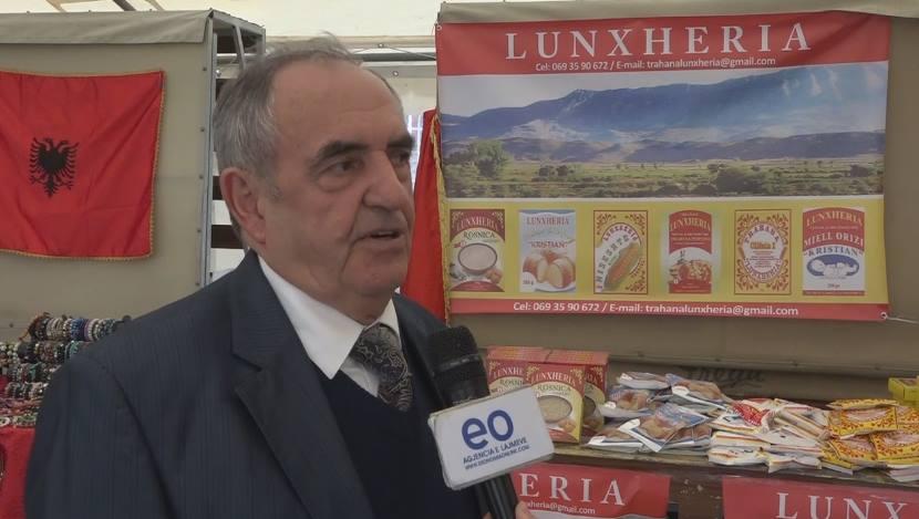 Kiço Noti, administrator i punishtes Trahana Lunxheria viti i shkuar ishte i ngarkuar me plot pune dhe bamiresi