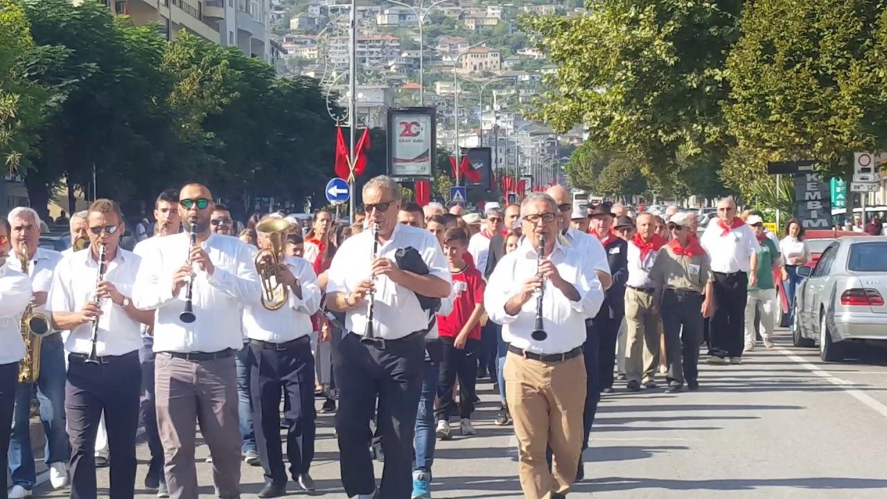 Festë dhe Mirënjohje Partizanëve në 75-vjetorin e çlirimit të qytetit të Gjirokastrës