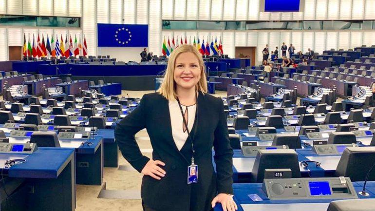 Lajmi që bëri çdo Gjirokastrit Krenar - Arba Kokalari zgjidhet Zv. Presidente e Parlamentit Europian