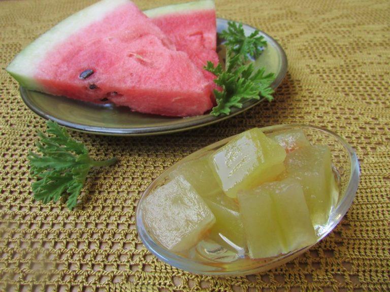 GLIKO ME SHALQI nga Kuzhina Tradicionale Gjirokastrite / Traditional Watermelon Spoon Sweet from Gjirokastra