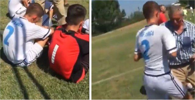 Video Skandal/ Humbet ndeshjen ha dru nga Trajneri! Kështu stërviten këta të rinj në Shqipëri!