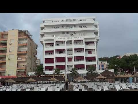 Ky eshte Hotel Palma i shembur nga Termeti ne Durres. 60 Turiste Shpetuan sipas Burimit.