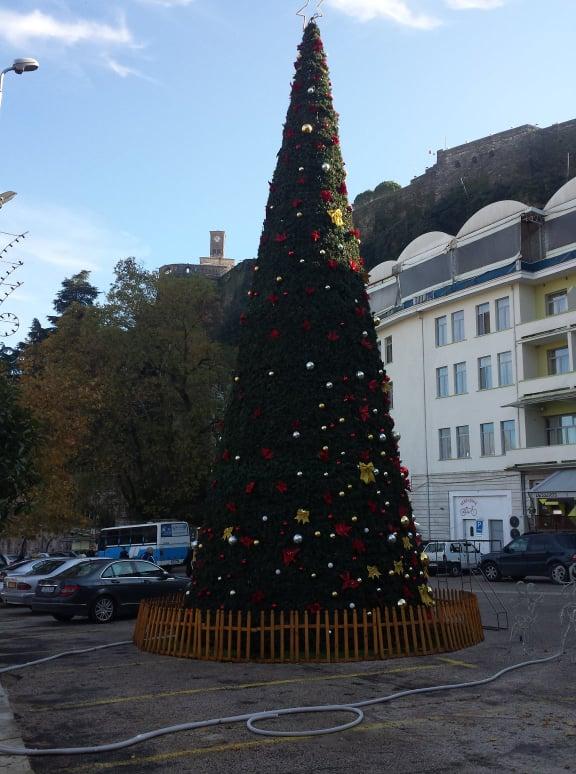 Sheshi i Çerçizit Stoliset me Pemën e Vitit të Ri