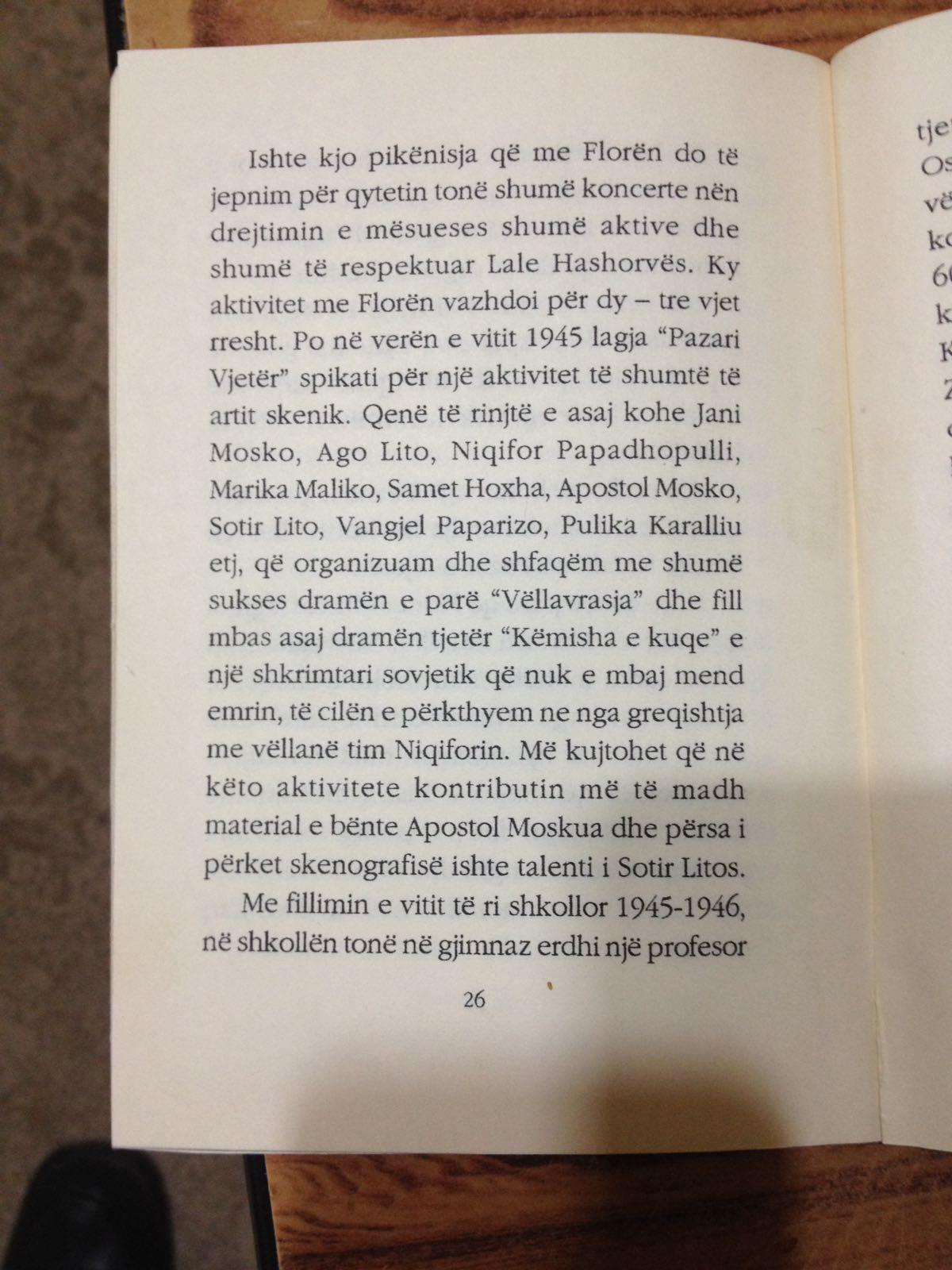 """Mësoni si u Festua Viti i Ri – 1945 në Gjirokastër dhe çfarë Ndodhi në Lagjen """" Pazar i Vjetër"""""""