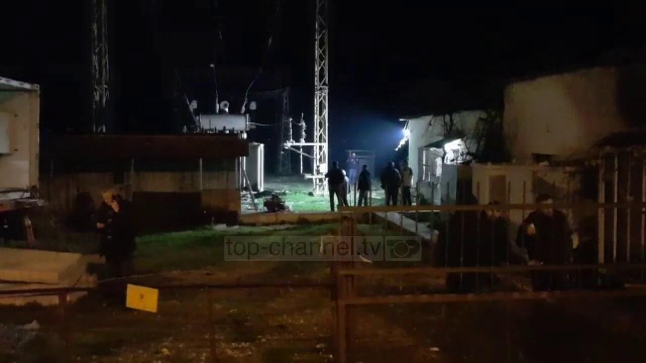 VIDEO/ Shpërthim te nënstacioni elektrik në Gjirokastër! Qyeteti pa Drita ne disa zona!