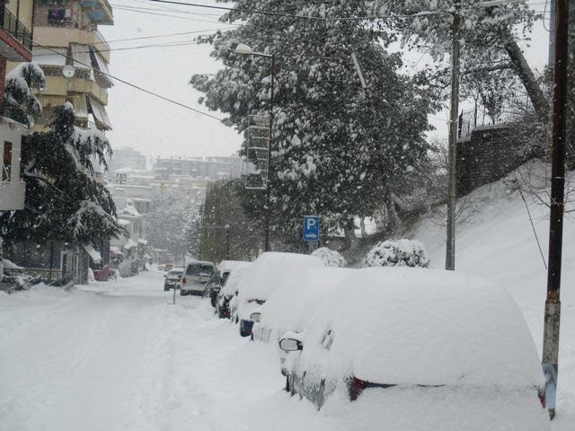 Ditët e Para Dimërore në Qytetin e Gjirokastrës