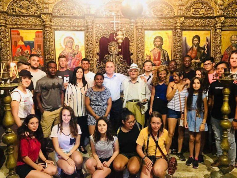 82 Vjeçari Stefan Miha, Mesazh Kujtimi e Nderimi per Mesuesit