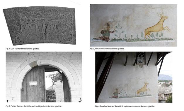 Dashuri dhe Luftë në Portat dhe Muret e Odave të Shtëpive të Mëdha të Gjirokastrës