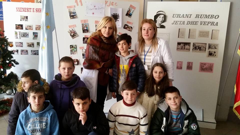 """Fillim i Bukur Për 2020! Projekti """"DITA IME"""" në Shkollën 9–Vjeçare """"Urani Rumbo"""" Nis me Ditëlindjen e Nxënësit Ramadan Daullxhiu"""