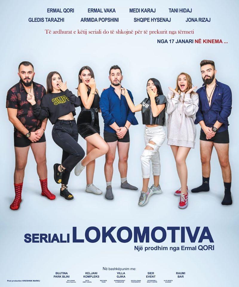 """Seriali """"Lokomotiva"""" në  Skenën e Teatrit """"Zihni Sako"""" të Gjirokastrës"""
