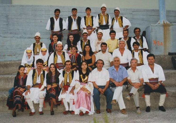 Kujtesë/ Ansambli Artistikë i Qytetit të Gjirokastrës- Sa Shumë Kujtime!...