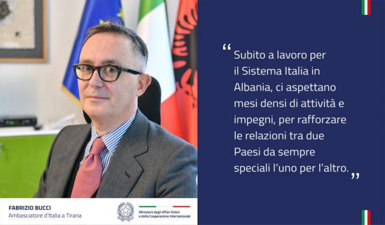 Fabrizio Bucci është ambasadori i ri i Italisë në Shqipëri