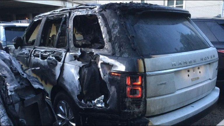 """Ngjarje në Mesnatë në Fushë Krujë, Digjet Një Mjet Tip """"Land Rover"""""""