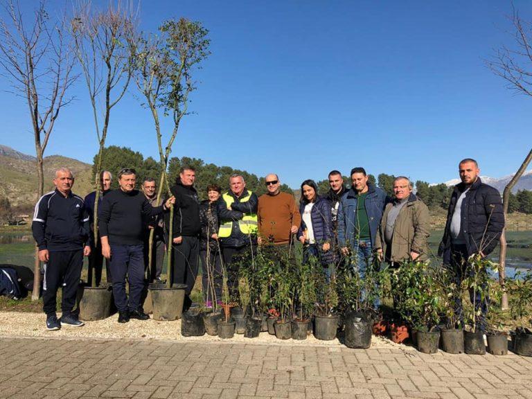 Parkut të Viroit i Shtohen edhe 51 Pemë Dekorative. Po Kush i Mbolli ato?