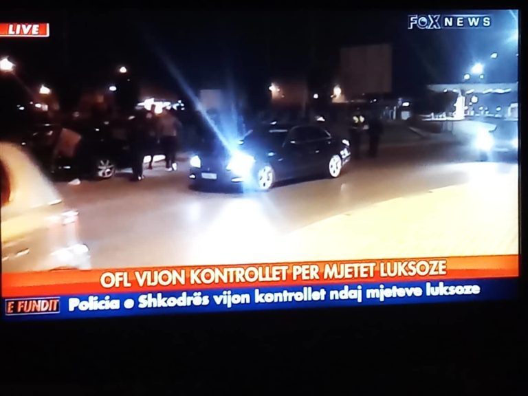Operacioni Forca e Ligjit - Sekuestrohen Dhjetra Makina Luksioze edhe ne Gjirokaster