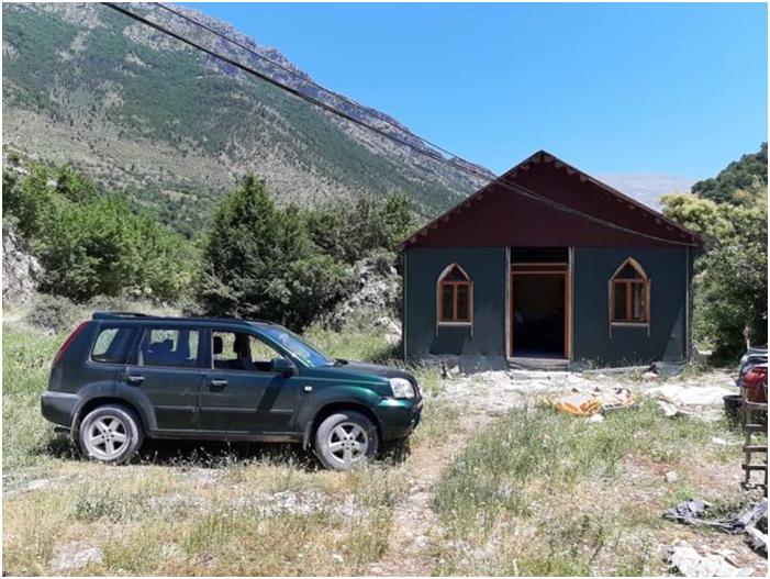 Bujtina e Shpëtim Beqos në Grykë të Selckës të Qarkut të Gjirokastrës