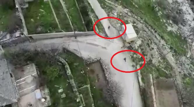 Droni ndjek 2 Gjirokastritë në Manalat - Fshihen në Përrua... (Pamjet Filmike)