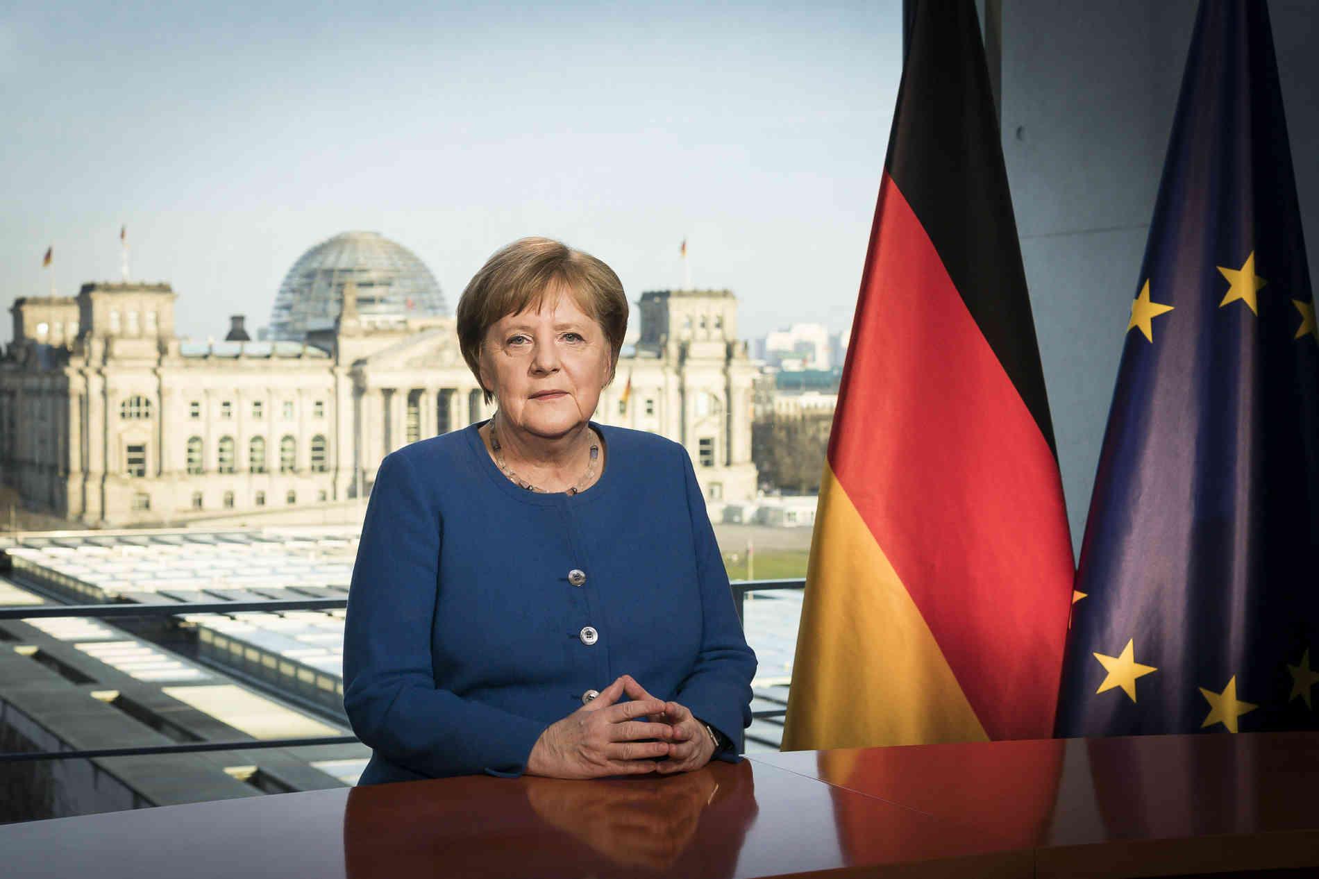 Koronavirusi/ Angela Merkel në Karantinë...