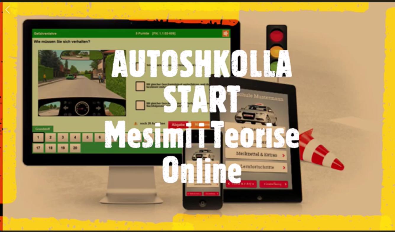 """""""Vjen Risia nga Durresi"""" - Autoshkolla START Realizon me Sukses Mesimin e Pare Online te Teorise..."""