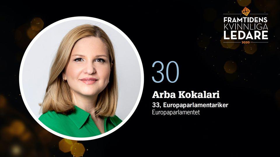Arba Kokalari në listën e 75 grave frymëzyese në botë