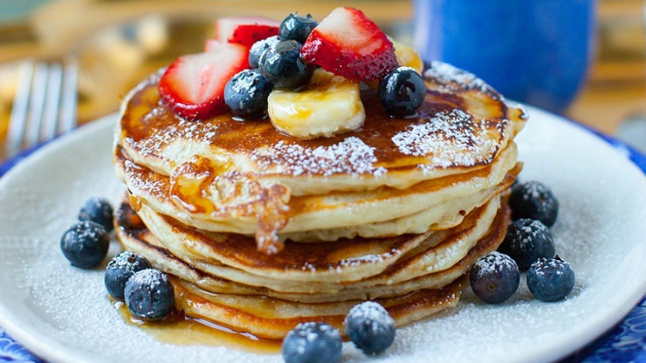 Ishin shume te thjeshta, ja si i pergatitem te famshmet Pancakes