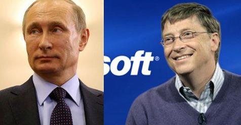Putin përzë Microsoftin nga Rusia dhe fut në listën e zezë Bill Gates, Xhorxh Soros dhe Jacob Rothschild