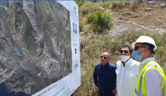 """Blendi Çuçi në Konispol:"""" 10 milion dollarë për rehabilitimin e ujëmbledhësit të Janjarit"""""""
