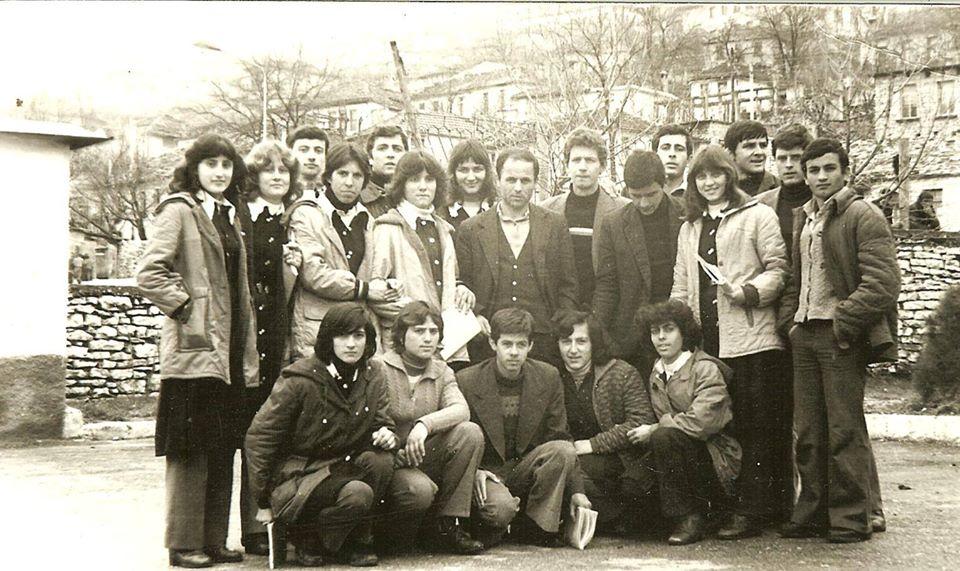 Kujtese/ Ne fotot, djem e vajza te shkolles industriale te Gjirokastres