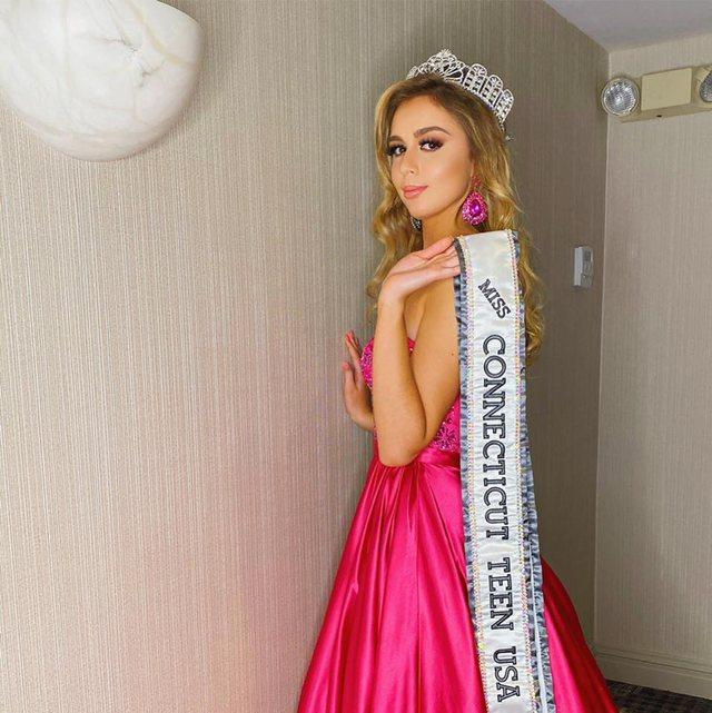 """Ja kush eshte vajza shqiptaro-amerikane fituese e """"Miss Connecticut Teen USA 2020"""""""