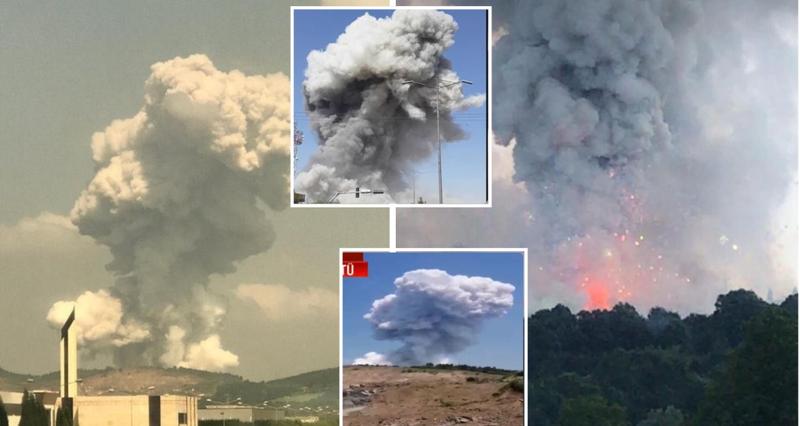 Shpërthim i fuqishëm në një fabrikë fishekzjarrësh në Sakarya të Turqisë, dyshohet per të vdekur