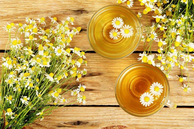 Kjo recete e çajit te kamomilit ne vere, pervecse ju freskon edhe....