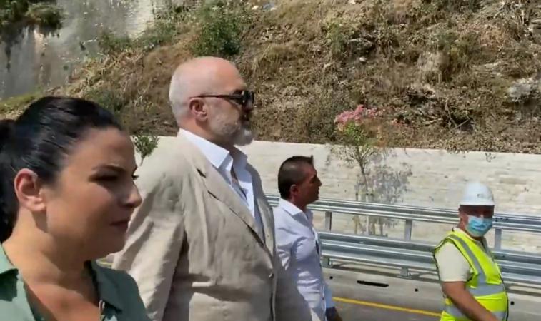 Kryeministri i vendit Edi Rama ne Tepelene dhe Gjirokaster...