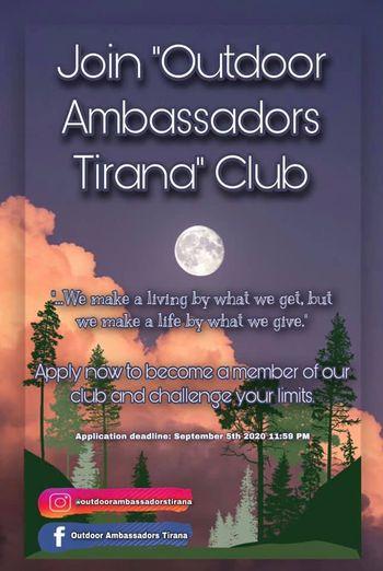 Gjimnazistë të Tiranës, aplikoni për Klubin e Ambasadorëve të Natyrës!