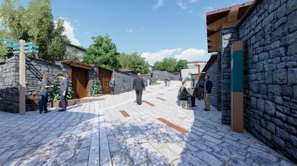 Ne Permet, projekt per restaurimin e peizazhit urban historik të qendrës së vjetër etj
