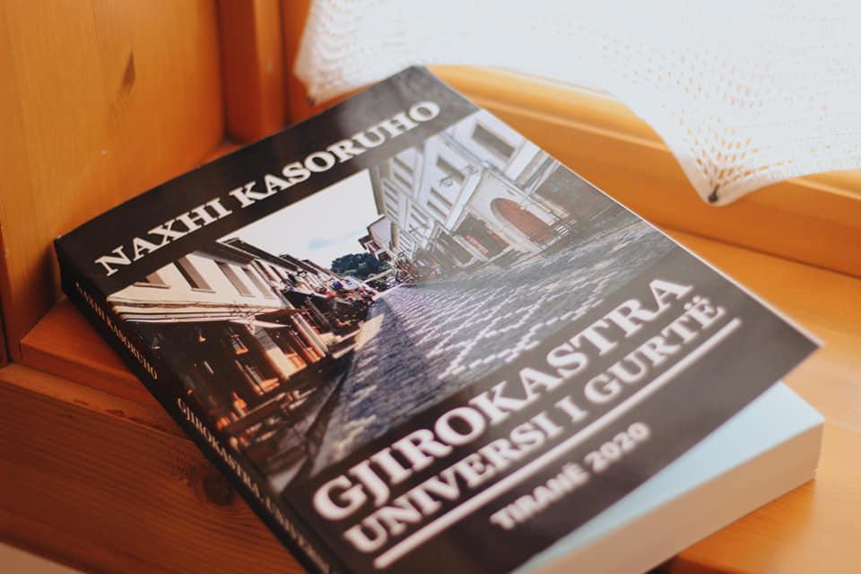 """Promovohet libri i ri i autorit Naxhi Kasoruho """" Gjirokastra -Universi i gurte"""""""
