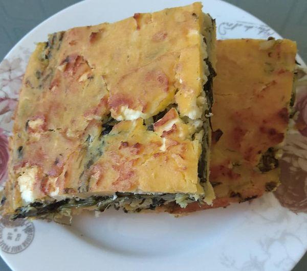 Receta e drekes per sot:Pispili me miell misri me spinaq, djathe te bardhe dhe orizmisri