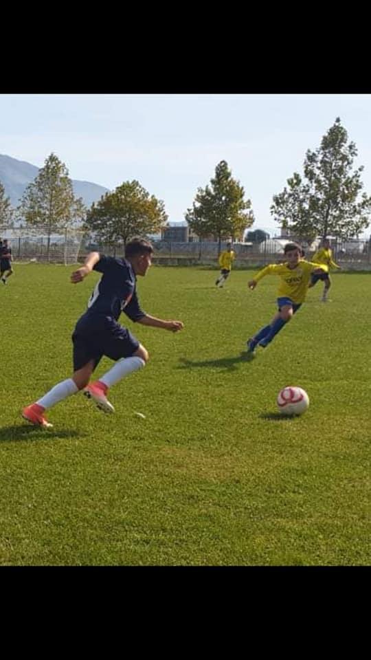 Nje talent i ri ne futboll:6 gola kunder ekipit zinxhir Bistrica- Delvine