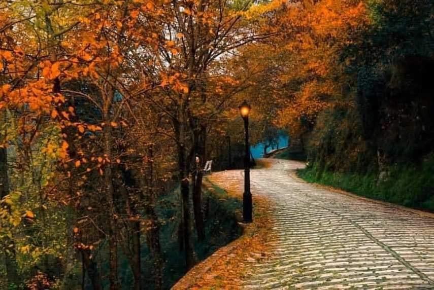 Mirëmëngjes nga kjo rrugë,e bukur dhe me kujtime, e mbrojtur nga muret dhe hija e kalasë së Gjirokastrës