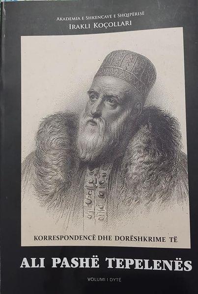 Xhezo Cana: Kafe dhe falenderime per profesor Irakli Koçollarin, per vellimin e dyte me dokumente per Ali Pashe Tepelenen